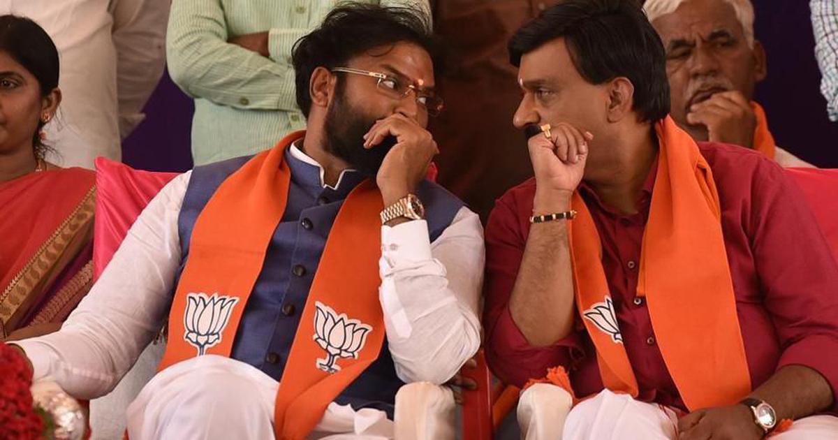 कर्नाटक : सिद्धारमैया के खिलाफ उतरे भाजपा उम्मीदवार का स्टिंग वीडियो सामने आया