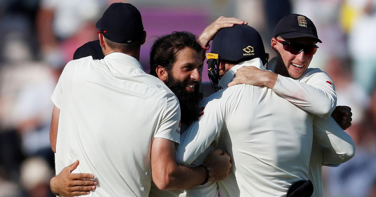 Kohli, Rahane's efforts go in vain as Moeen Ali spins England to series win over India
