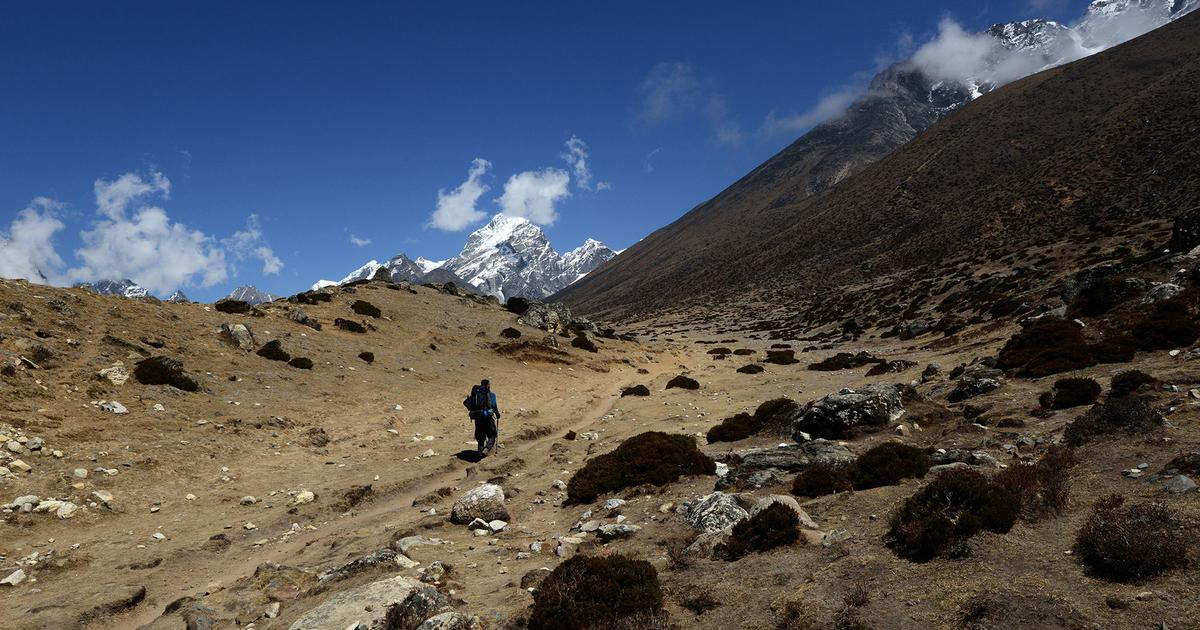 Photos: How climate change has transformed the Himalayas in Nepal over one decade