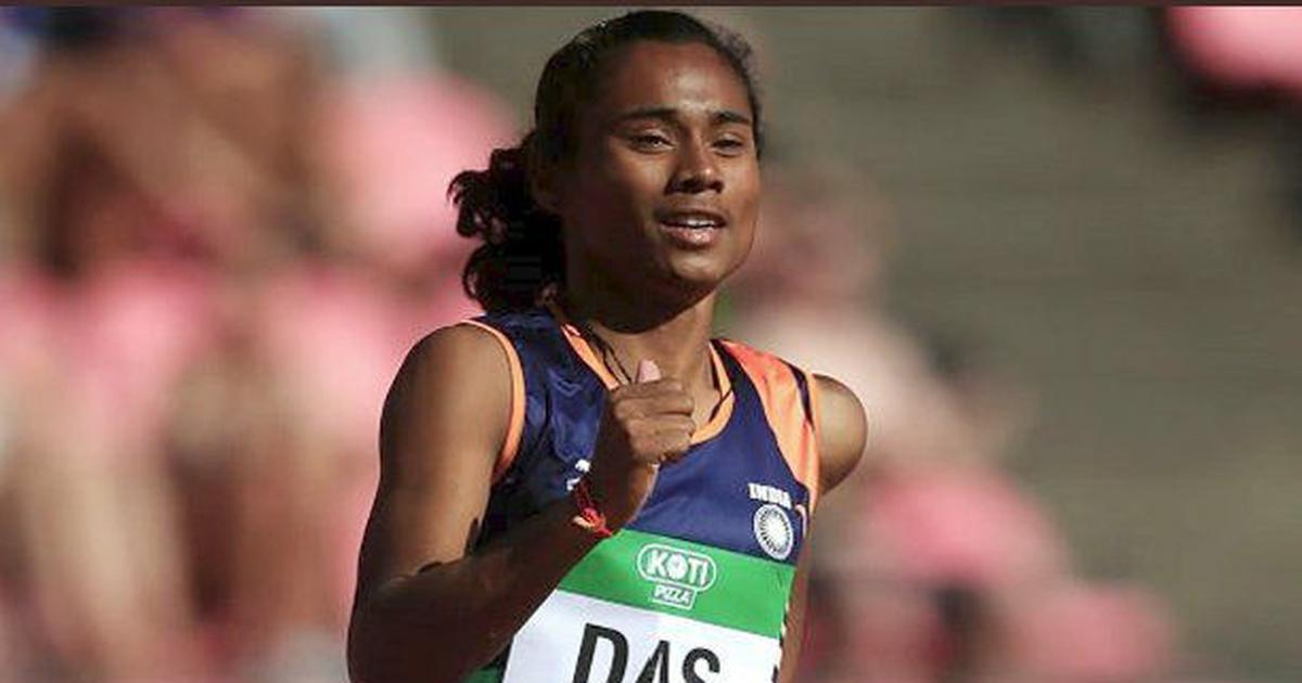 Hima Das wins gold in U-20 women's 400 metres, becomes India's first world track medallist