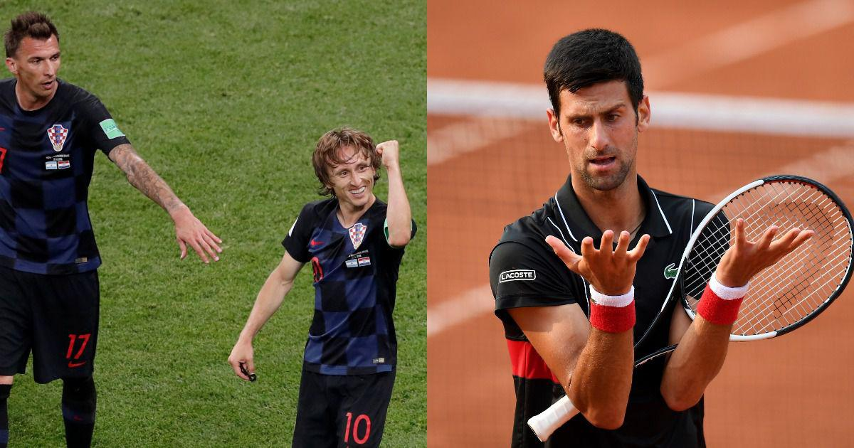 'Aren't you ashamed Novak?' Djokovic under fire for supporting Croatia at World Cup