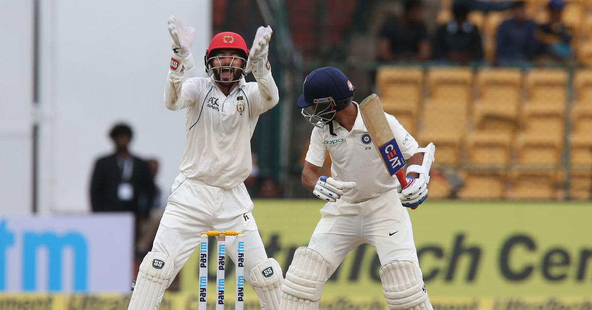 Overcoming nerves of a historic Test debut, Afghanistan expose India's batting frailties