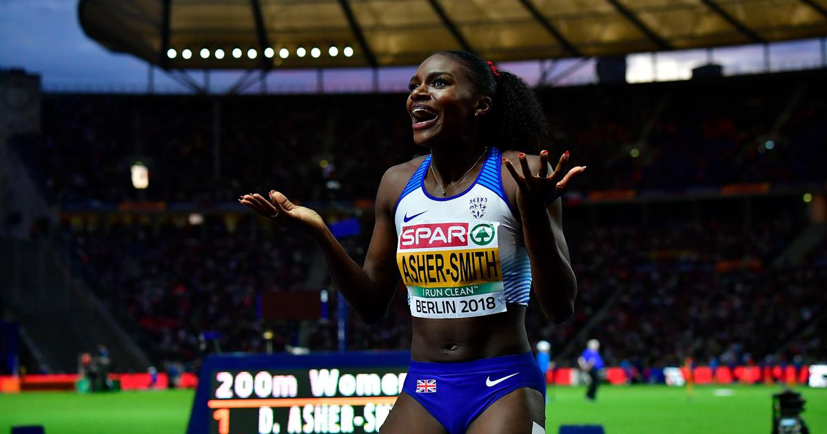 European Athletics Championships: Dina Asher-Smith claims 100 and 200 metres double
