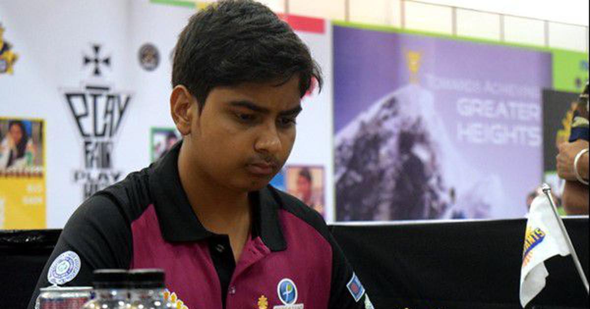 India's Abhimanyu Puranik wins silver at World Junior Chess Championships