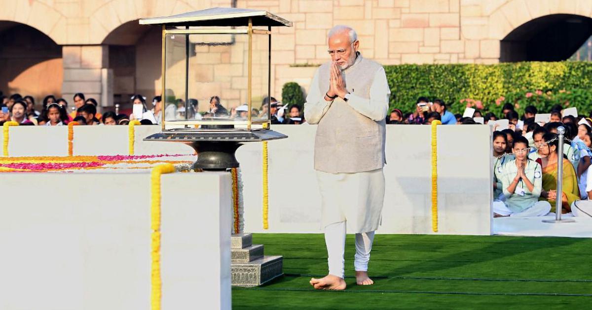 प्रधानमंत्री नरेंद्र मोदी ने दुनिया को स्वच्छ बनाने के लिए '4पी' का फॉर्मूला दिया