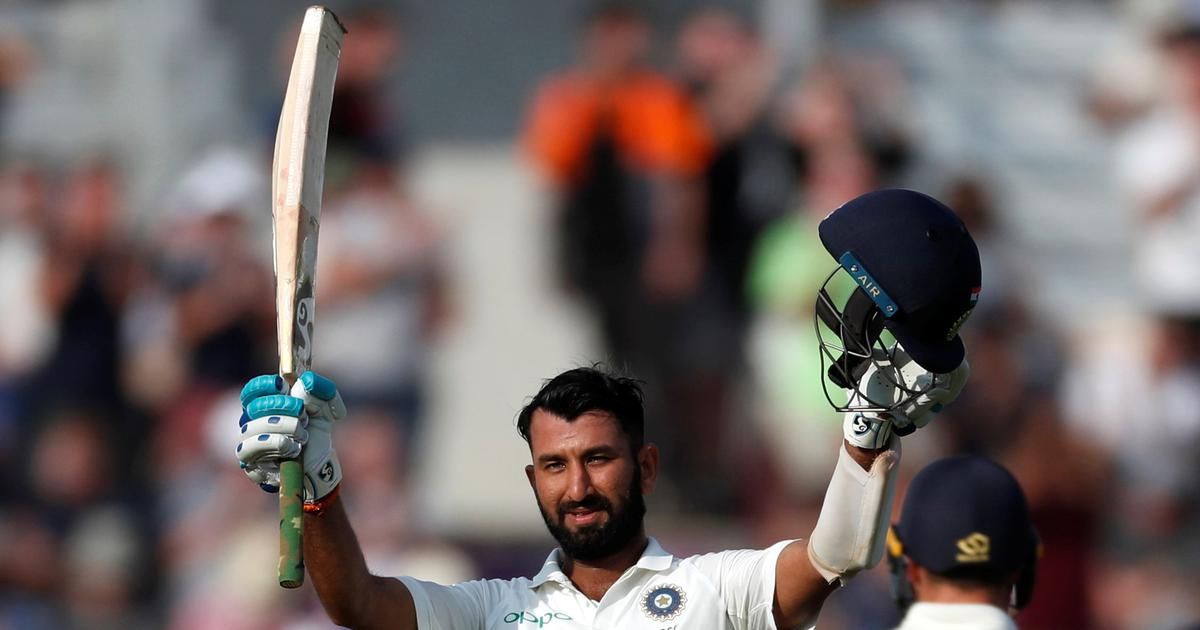 England vs India, 4th Test, day 2 – as it happened: Pujara's century helps visitors take the lead