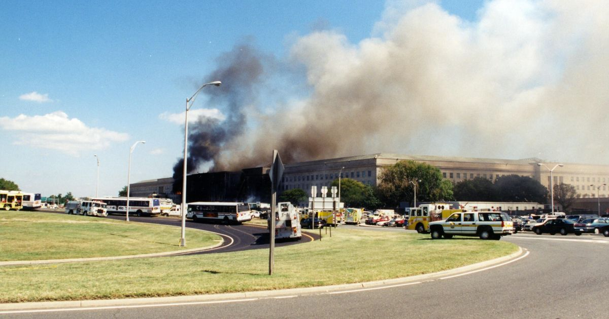 In photos: FBI re-releases images of Pentagon after 9/11 attack
