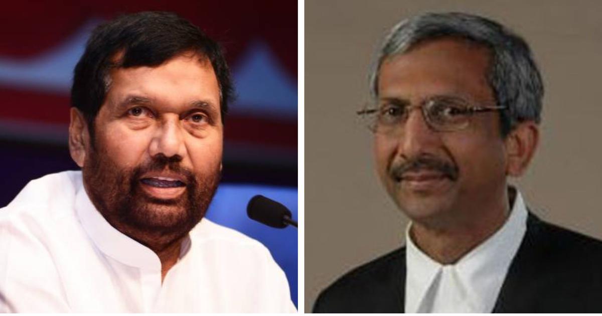 जस्टिस एके गोयल को एनजीटी अध्यक्ष नियुक्त किए जाने से गलत संदेश गया : रामविलास पासवान