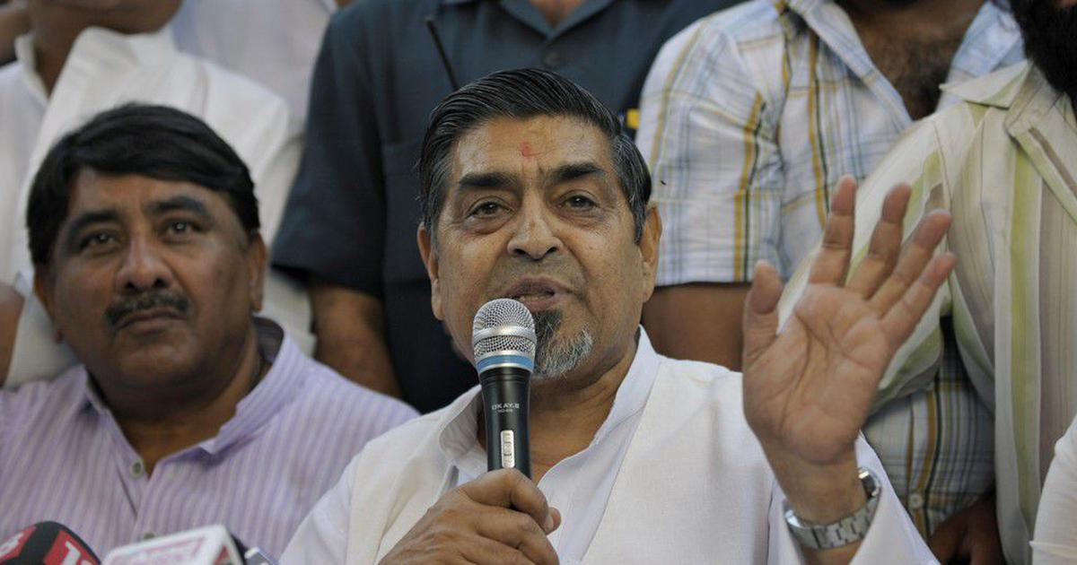 Jagdish Tytler withdraws plea from Delhi HC, says he will contest defamation charges in trial court