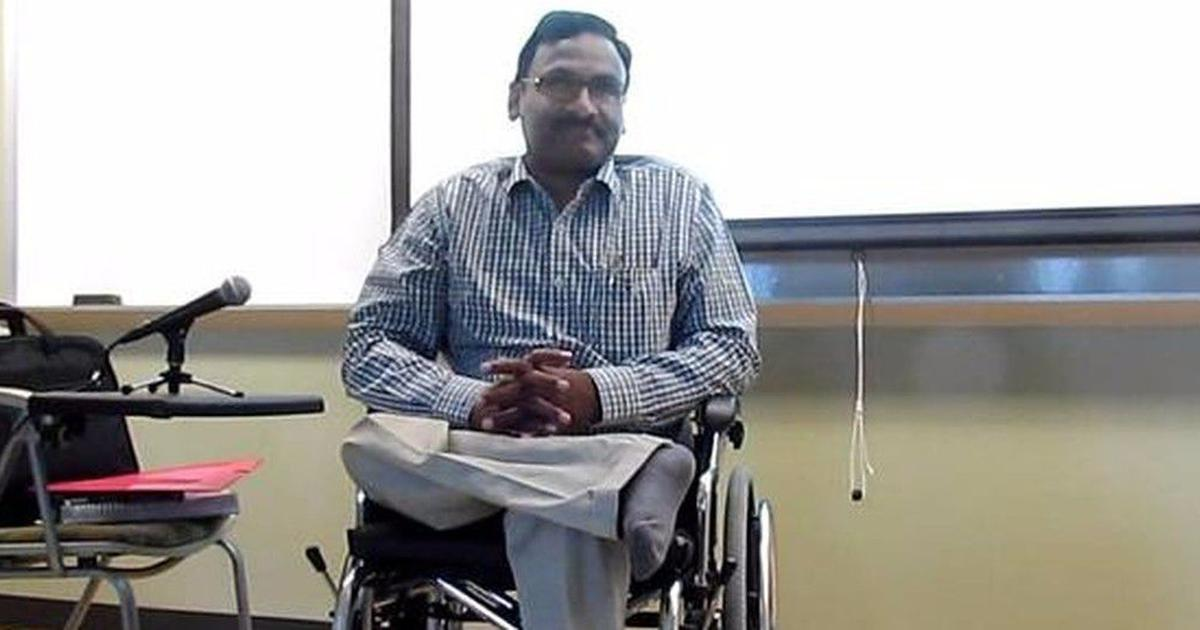 Shift GN Saibaba from Nagpur jail to medical facility, disability rights group writes to NHRC