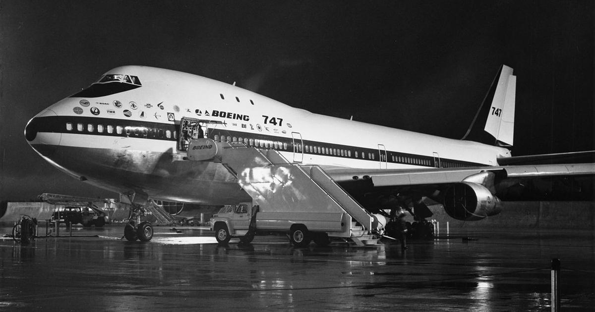 50 years of the Boeing 747: How the 'queen of the skies' reigned over air travel