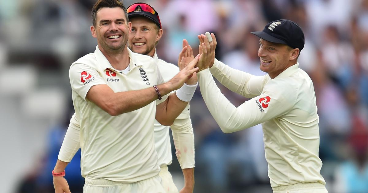 Anderson storm blows away India on rain-marred day two at Lord's