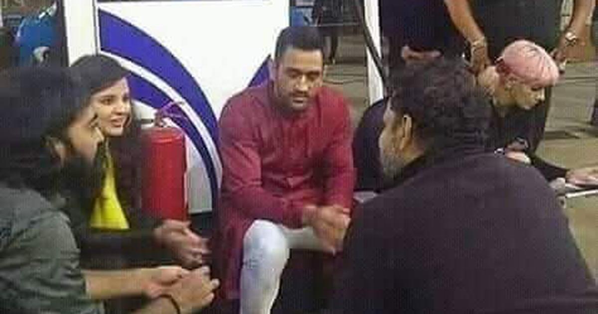 क्या आज भारत बंद में महेंद्र सिंह धोनी भी शामिल हुए हैं?