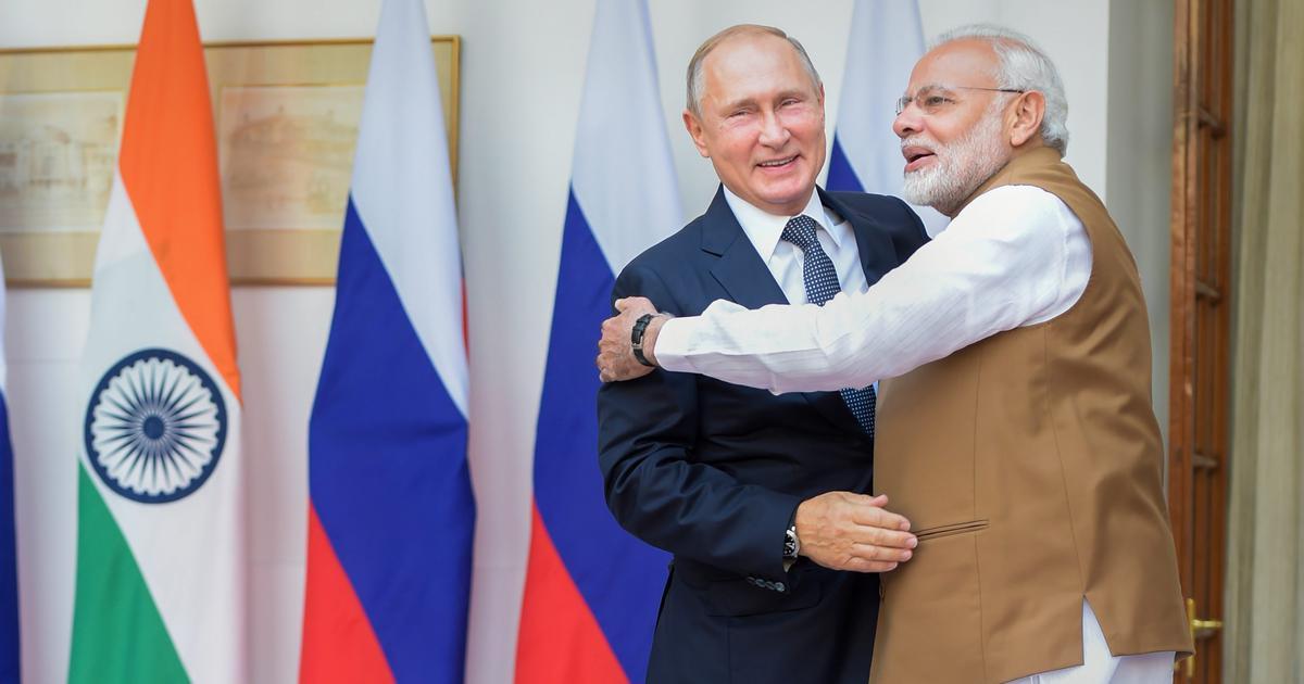 भारत और रूस ने एस-400 मिसाइल सुरक्षा प्रणाली के सौदे पर हस्ताक्षर किए