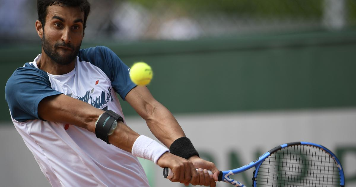 French Open: Yuki Bhambri out in first round after straight-sets loss to lucky loser Bemelmans