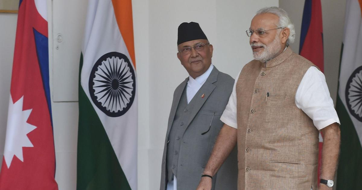India says it won't accept Nepal's 'artificial enlargement' of territorial claims