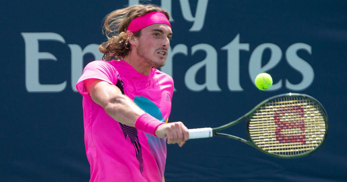 Rogers Cup: Tsitsipas stuns Djokovic to set up Zverev clash, Nadal ends Wawrinka's run