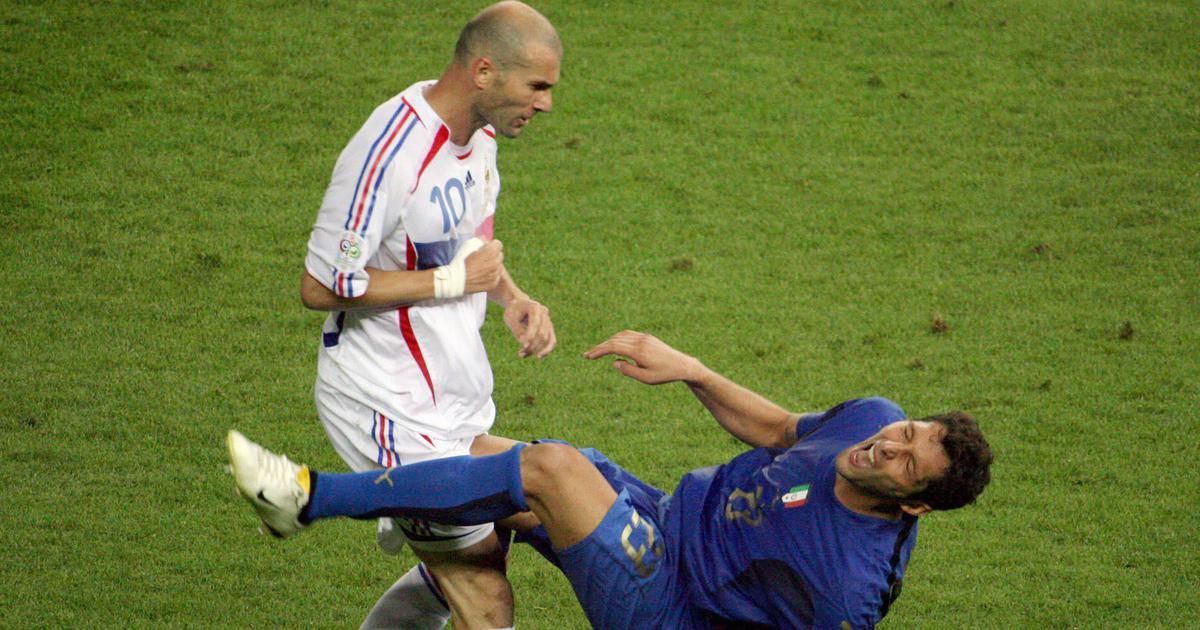 Fifa World Cup moments: Marco Materazzi provokes, Zinedine Zidane loses his head