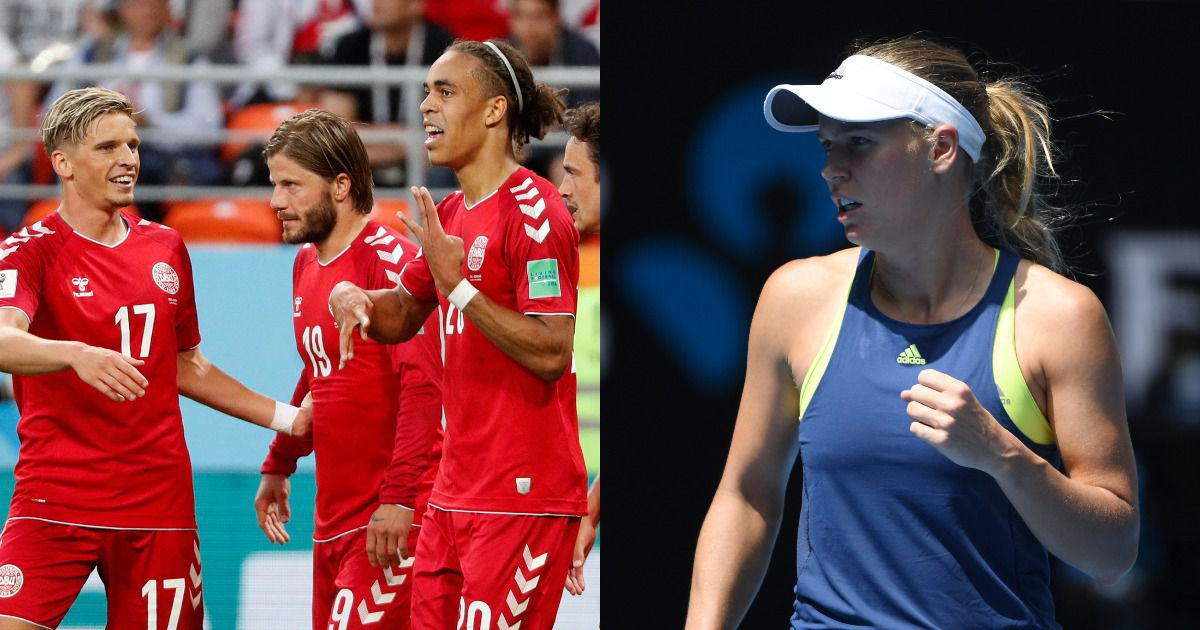 'Rollercoaster of emotions': Wozniacki shouted herself hoarse after Denmark's World Cup drama