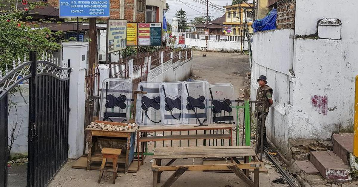 Shillong: Authorities completely lift 80-day curfew imposed after clashes broke out in Punjabi Lane