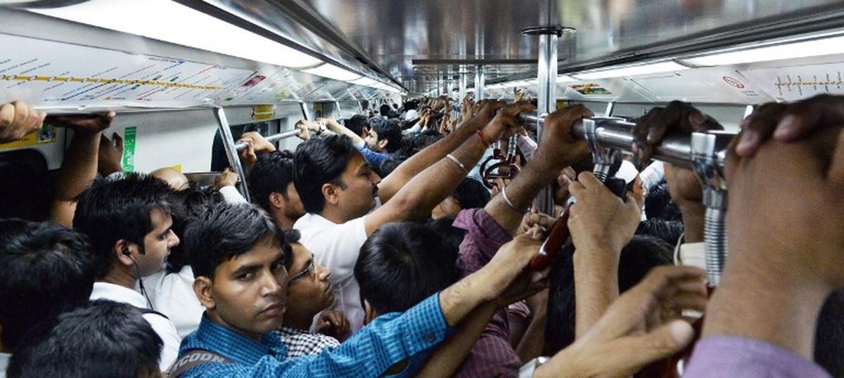 Image result for delhi commuters