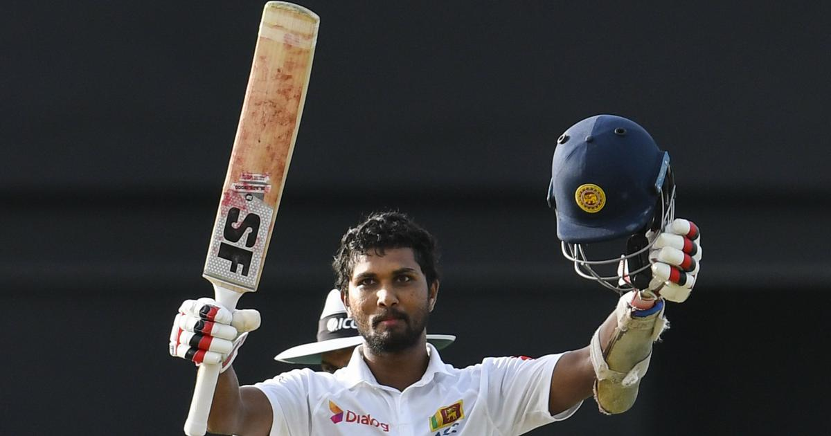 Chandimal's unbeaten ton helps Sri Lanka reach 253 despite Gabriel's fifer on day one