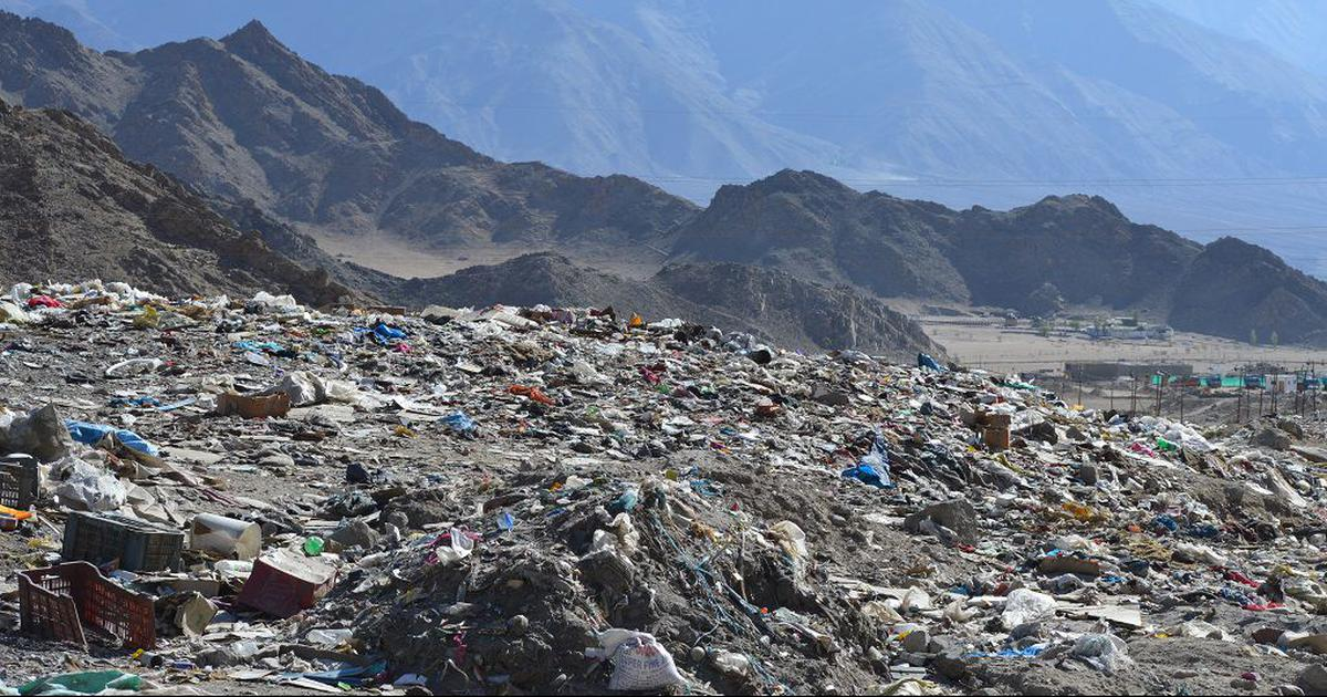 In photos: As tourism grows, so does trash in Ladakh's Pangong Lake