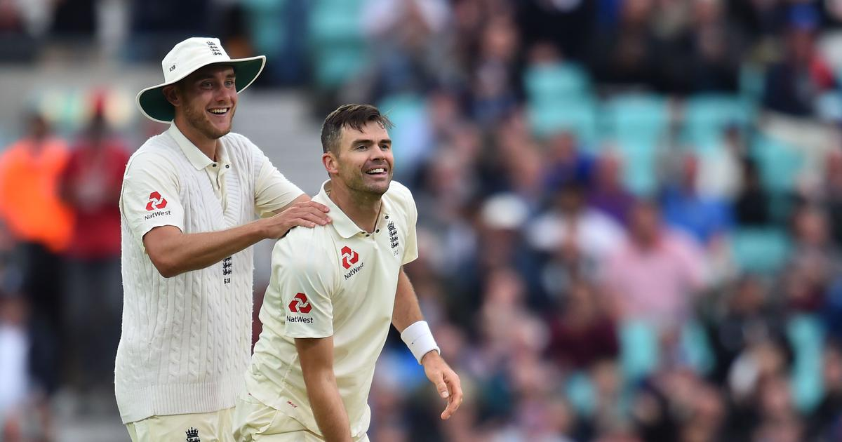 'My God, she's beautiful': James Anderson on when he first saw England pace-mate Stuart Broad