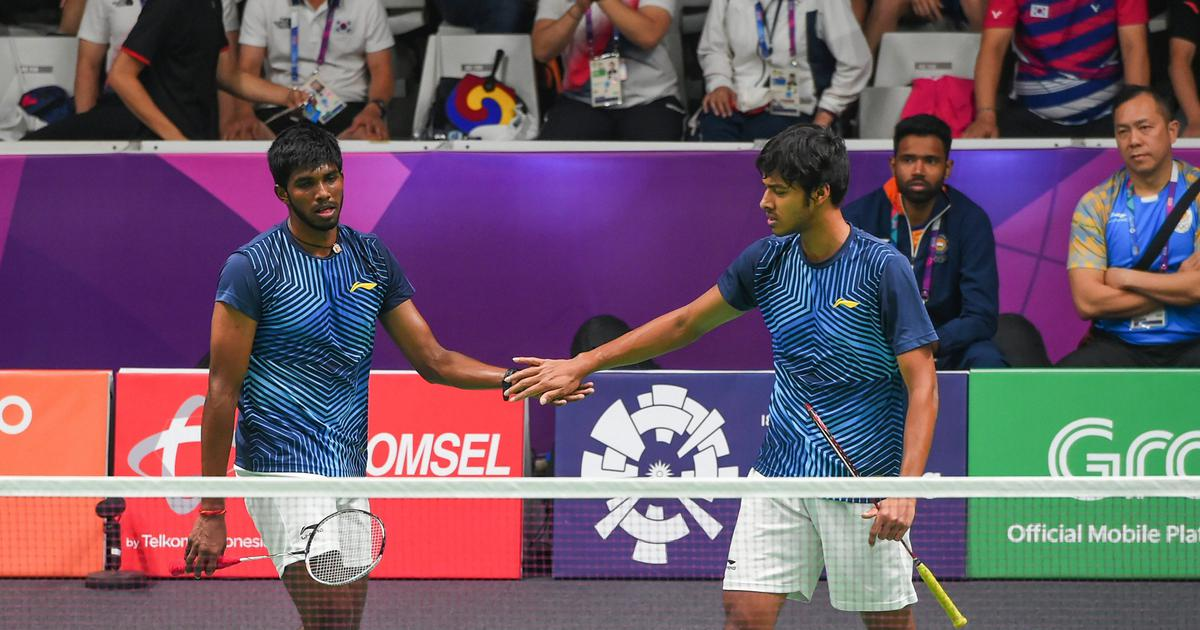 Badminton: Satwik and Chirag nominated for BWF's Most Improved Player of the Year award