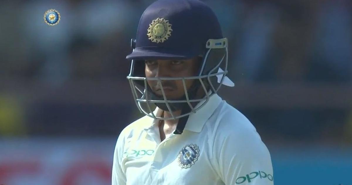Problem of execution: Skipper Kohli sees no reason to worry about Prithvi Shaw's batting technique
