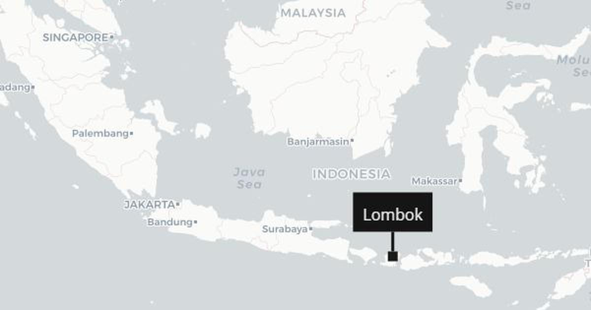 Indonesia Another powerful earthquake strikes Lombok island