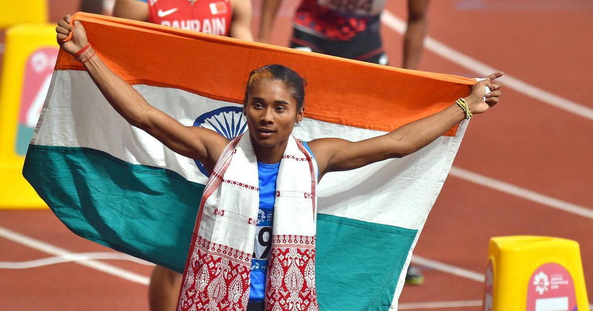 Athletics: Hima Das wins third gold in 11 days, javelin throwers sweep podium in Kladno Memorial
