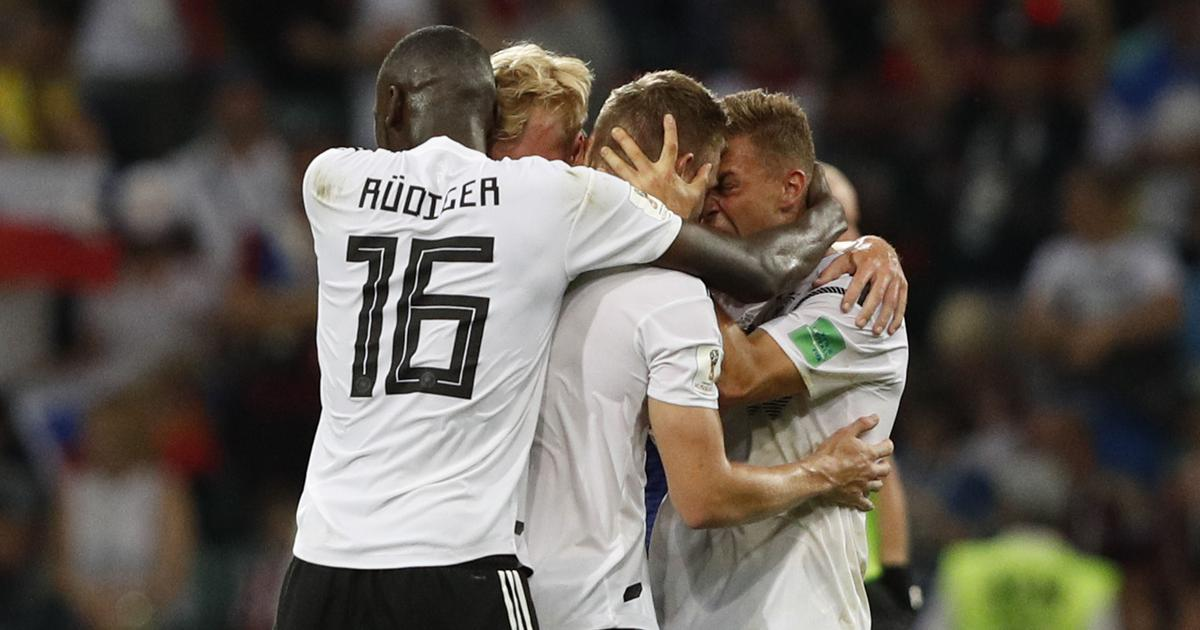 Germany celebrations 'scornful', says angry Sweden coach