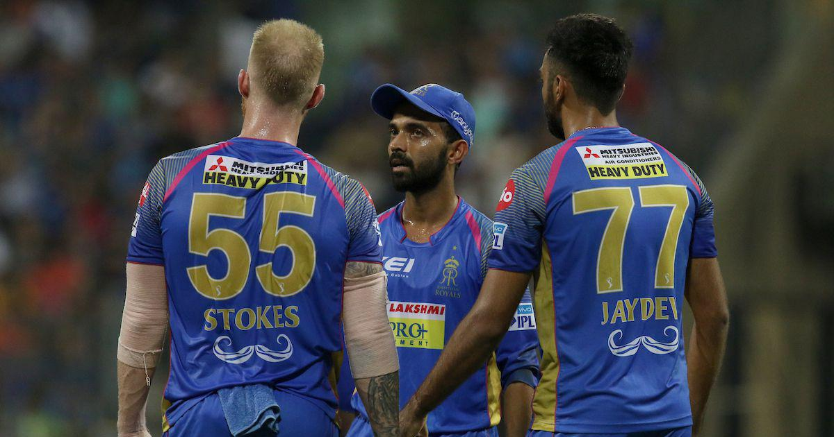Rahane fined Rs 12 lakh for Rajasthan Royals's slow over rate against Mumbai Indians