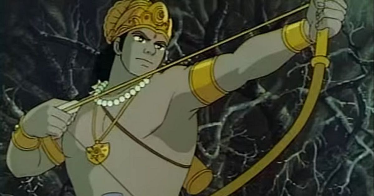 Protests by VHP activists meant that this gorgeous animated 'Ramayana' never got an Indian release