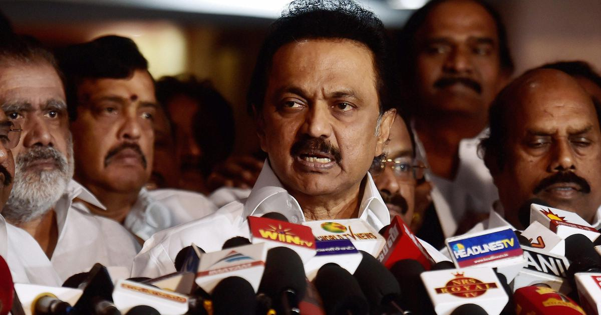 'Narendra Modi is no Vajpayee': DMK's Stalin rules out alliance with BJP