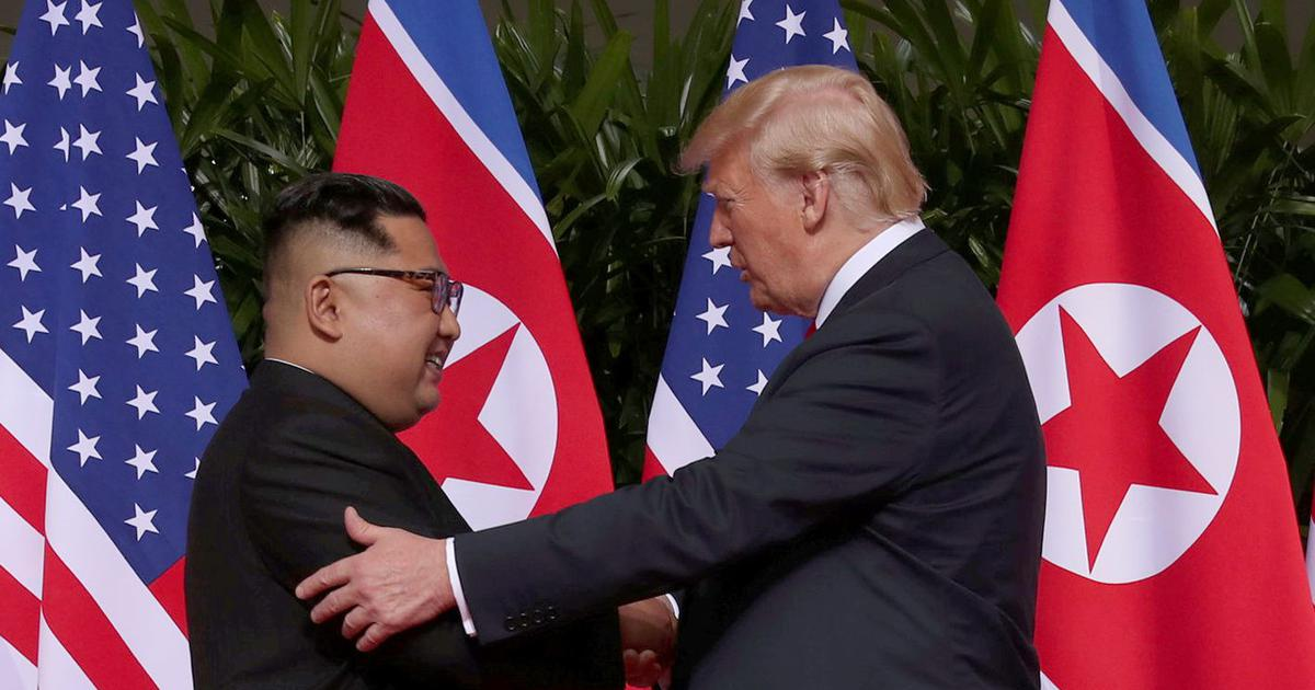 Kim Jong-un meets Donald Trump, commits to 'complete denuclearisation' of Korean Peninsula