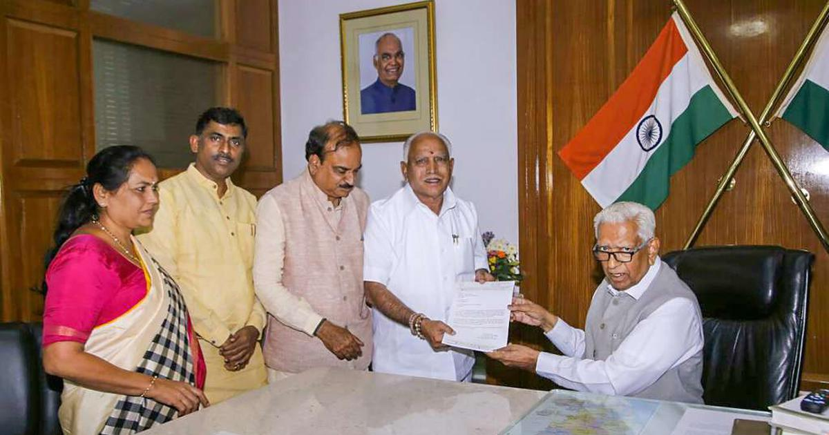Karnataka governor invites Yeddyurappa: Here's why the Supreme Court needs to step in