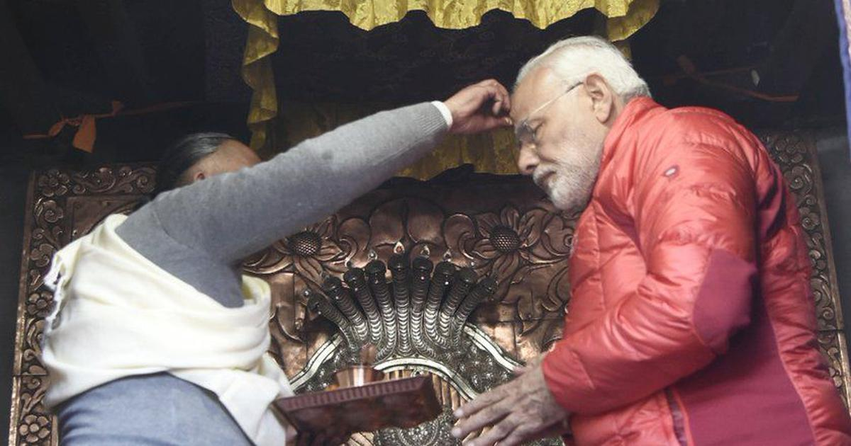 Narendra Modi violated model code of conduct by visiting temples in Nepal, says Congress