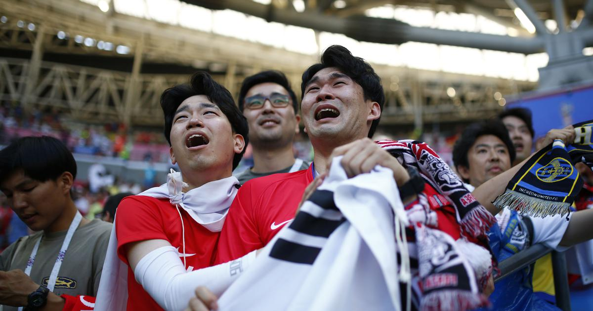 Reality beat our imagination   How South Korea reacted to knocking Germany  out of World Cup 7841c0286