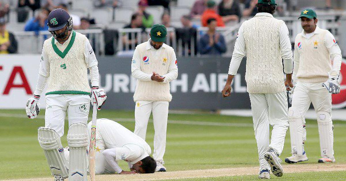 Imam-ul-Haq, Babar Azam save Pakistan the blushes as Ireland's Test debut ends in 5-wicket defeat