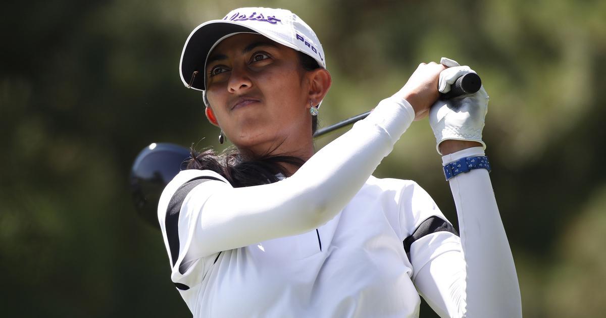 Golf: Aditi Ashok provisionally tied-9th in second round of Meijer LPGA Classic
