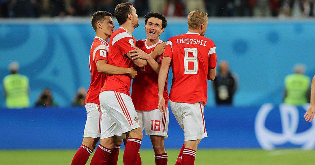 Fifa World Cup: Russia close in on last-16 spot with commanding 3-1 win over Egypt