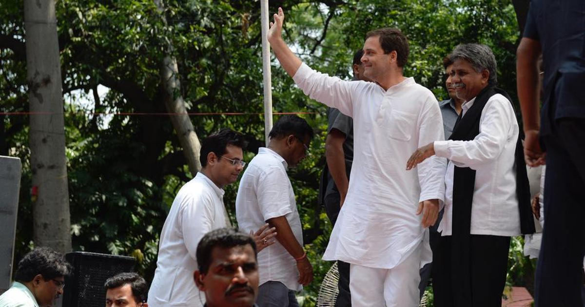 Dalits are beaten up and crushed wherever a BJP government is in power, says Rahul Gandhi