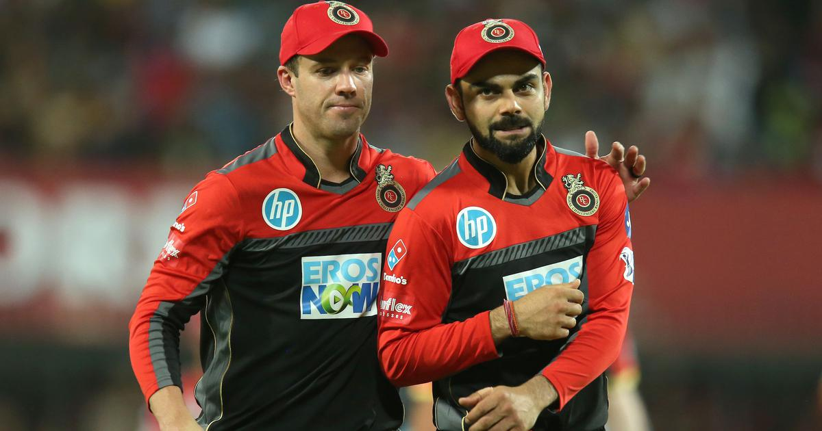 Watch: AB de Villiers says that Virat Kohli leads by example and sets the standards at RCB