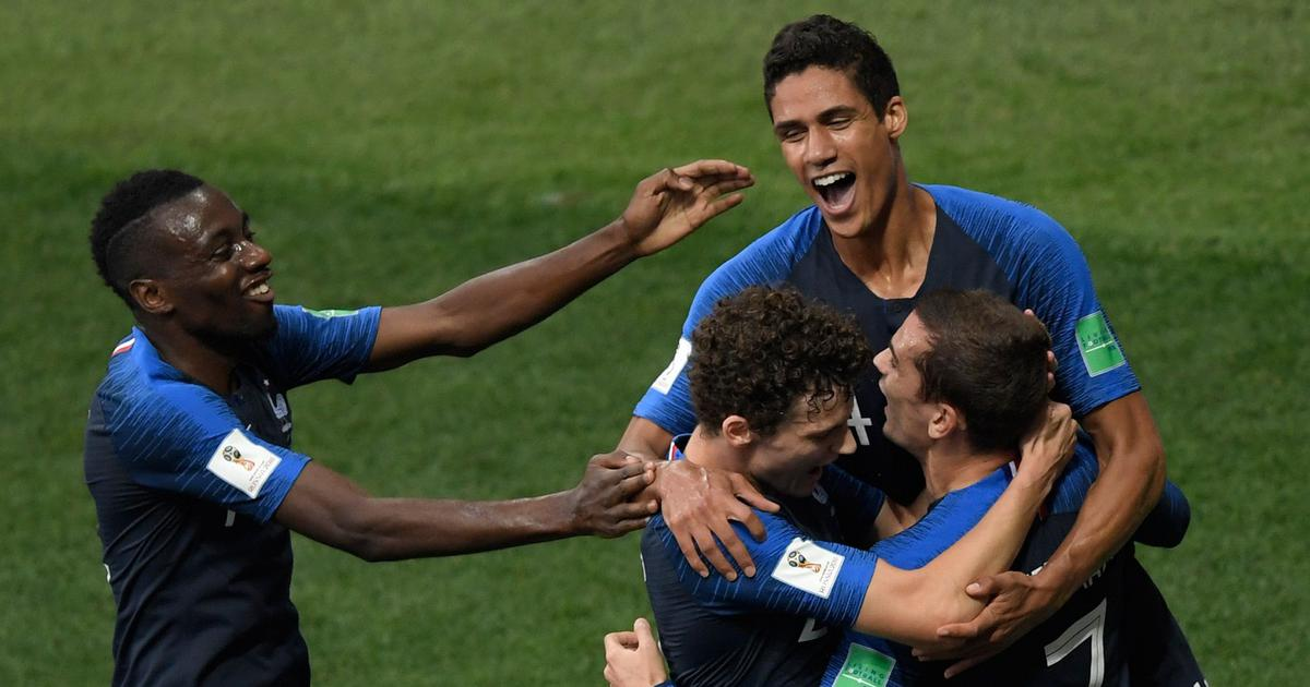 2c5b740fc62 World Cup final Live  Brilliant France beat Croatia 4-2 to lift ...