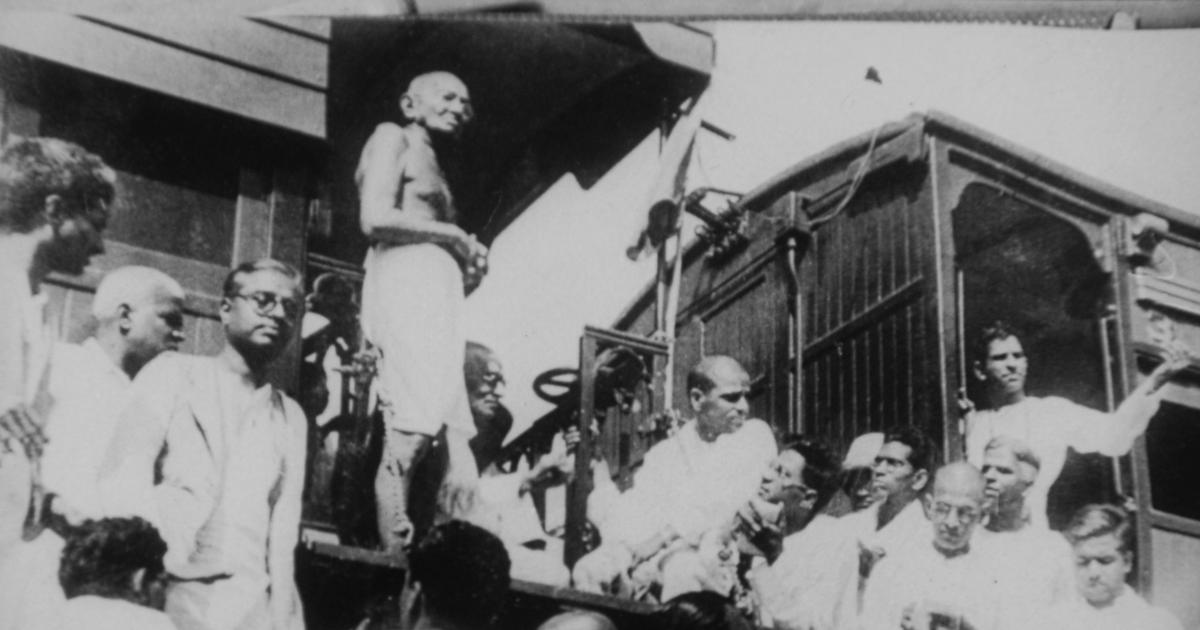Shaming the Hindus: Gandhi's anti-untouchability tour of 1933-'34