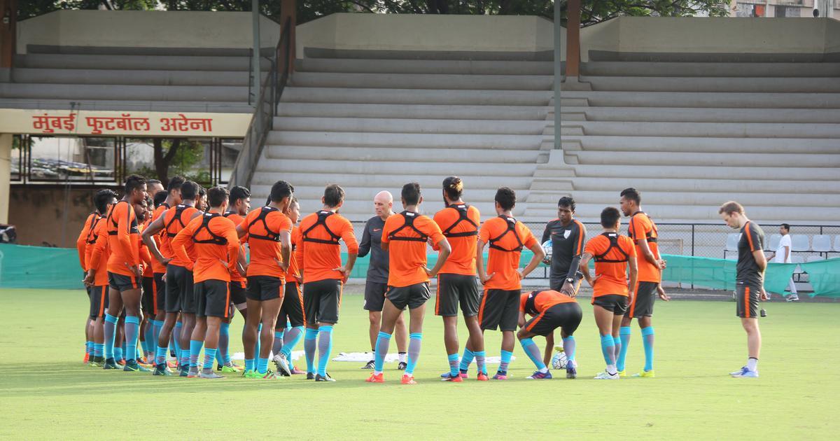 30-member Indian football squad begins preparatory camp in Mumbai for Intercontinental Cup