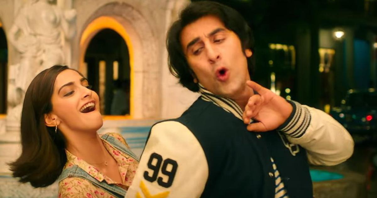Watch: Ranbir Kapoor wins the lip sync battle in 'Main Badhiya Tu Bhi Badhiya' from 'Sanju'