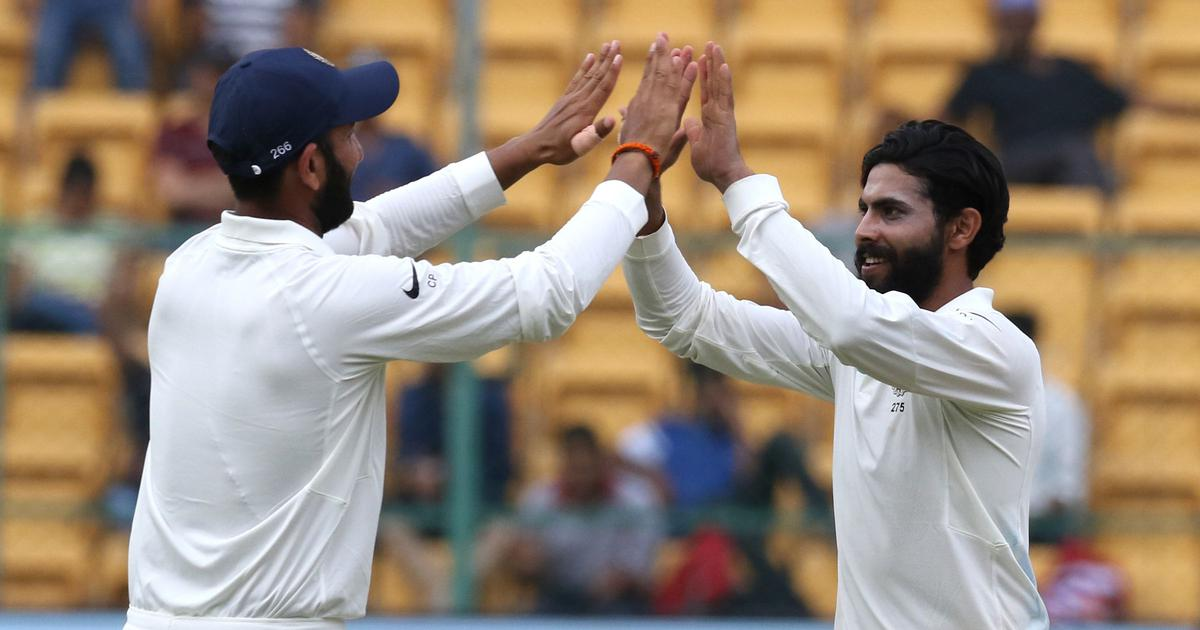 India v Afghanistan, only Test, day 2 as it happened: Hosts thrash debutants by innings and 262 runs